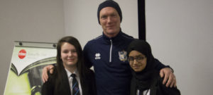 Neil Aspin Inspires Students
