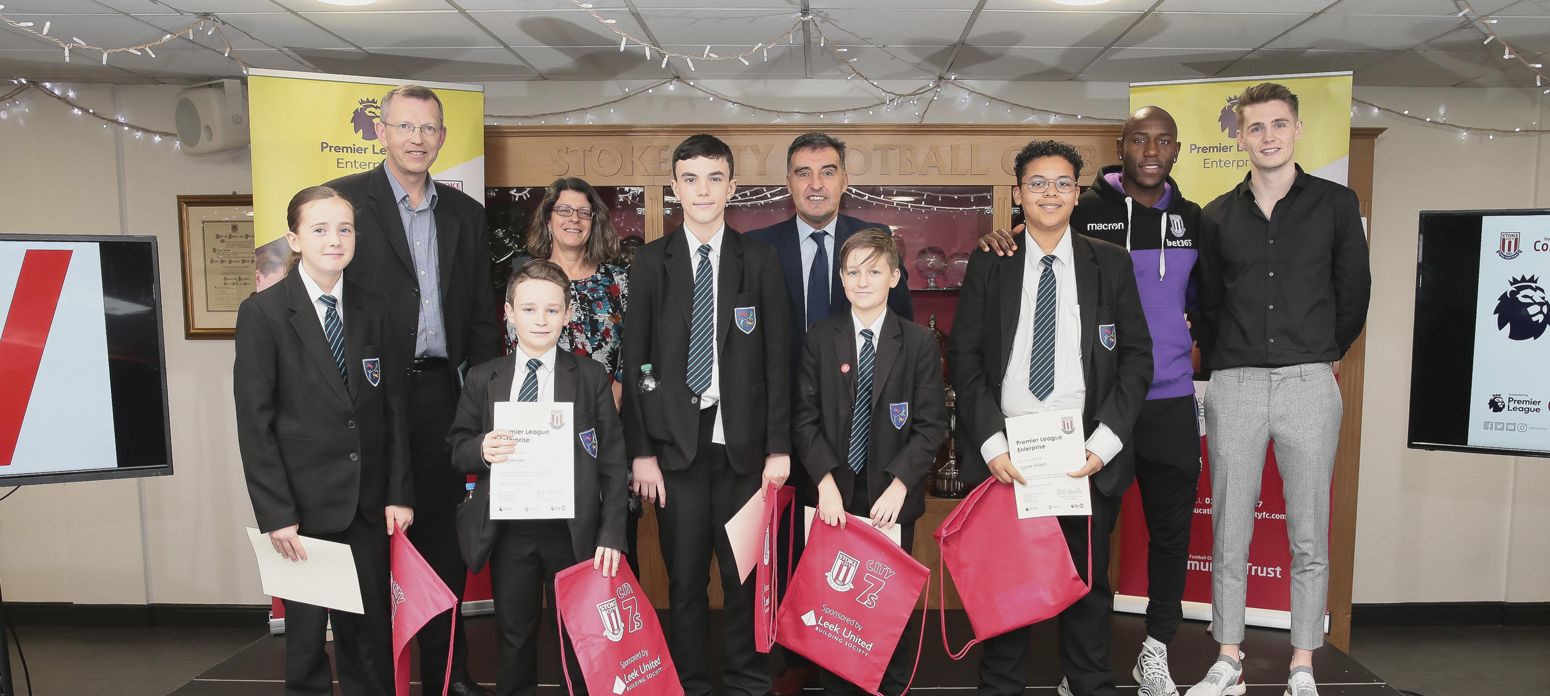 Students make an impact with Premier League Enterprise Challenge