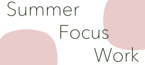 Year 10 Summer Focus Days