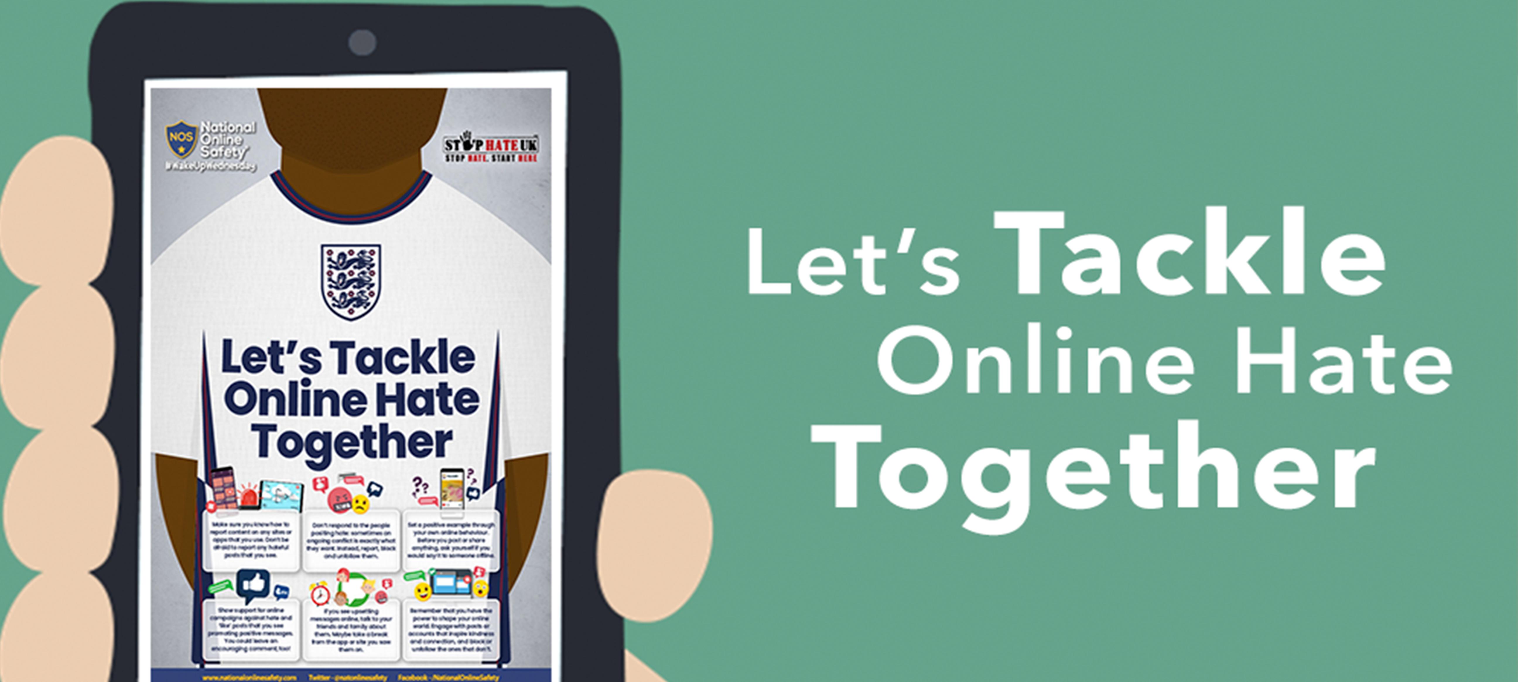 Let's Tackle Online Hate Together