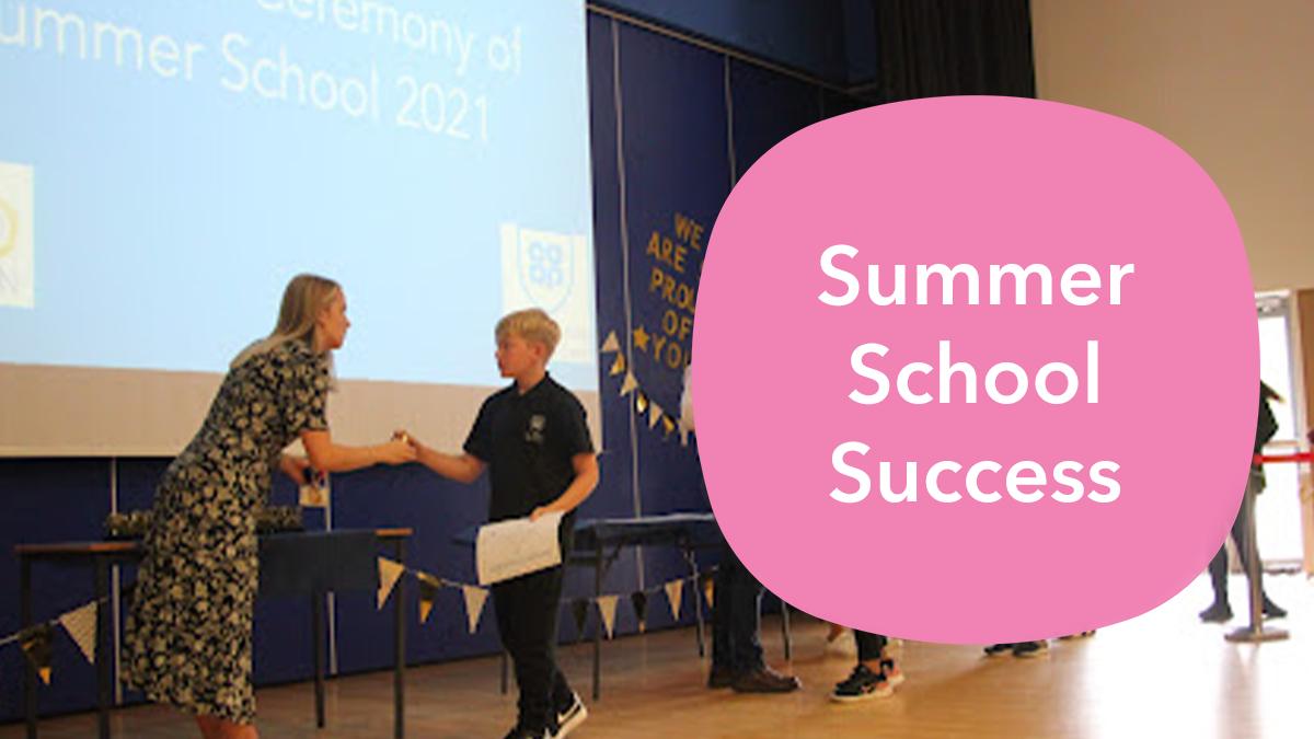 Summer School Success   Aug 2021